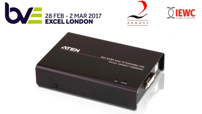 Argosy unveils new KVM over IP broadcast industry 'firsts' at BVE 2017