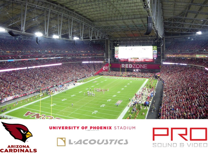 L-Acoustics Soars with the Arizona Cardinals