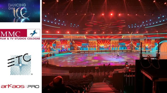 ArKaos New 4K Media Servers Dance on Ice  on TV in Germany
