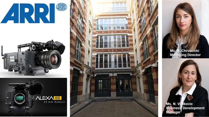 ARRI strengthens its business in France