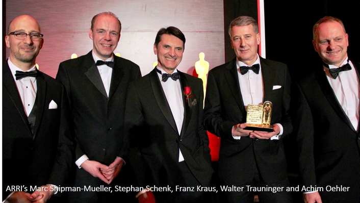 ARRI wins Academy Scientific and Engineering Award® for ALEXA camera system
