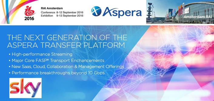 Sky Selects IBM Aspera for High-speed Delivery of News and Programming