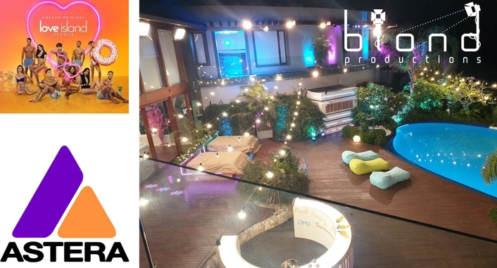 Astera for Love Island France …  in South Africa