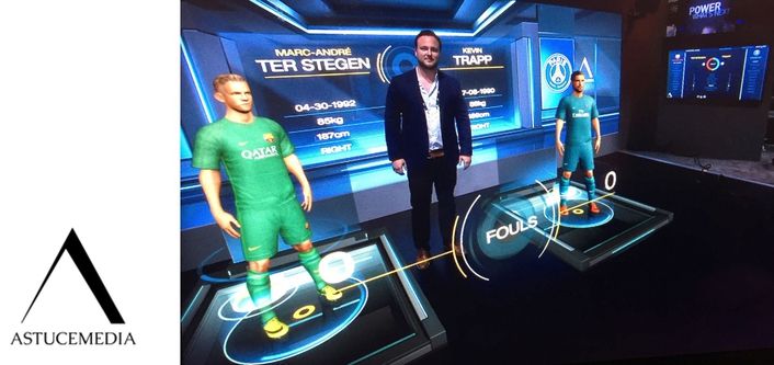 Data-Driven AR Football Module Wows Broadcasters & Streaming Media