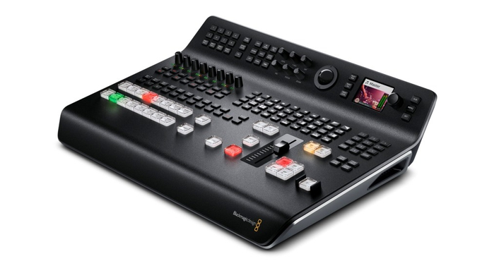 The world's most advanced all in one live production switcher with integrated hardware control panel and powerful features such as HDMI and SDI inputs, multiview, talkback, DVE and more