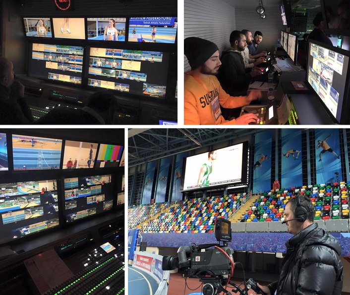 Mediapro Turkey provides live coverage of Istanbul Indoor Athletics Championships