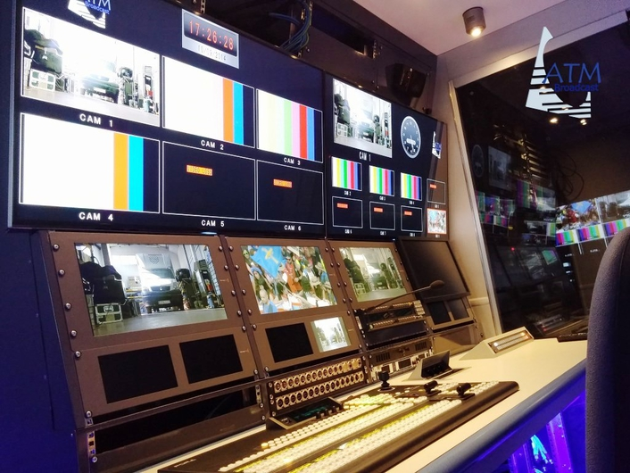 ATM BROADCAST PREMIERS A NEW HD OB VAN