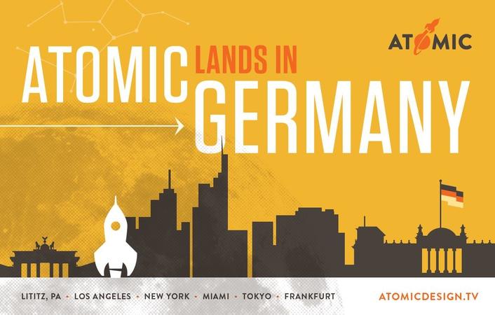 ATOMIC Lands in Frankfurt