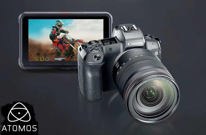 The new EOS R and Atomos Ninja V brings a new era of 10-bit 4k HDR video to Canon users