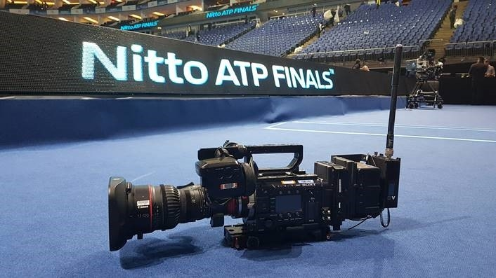 ATP Media and Gearhouse Broadcast test 4k and 1080p HDR technology at Nitto ATP Finals