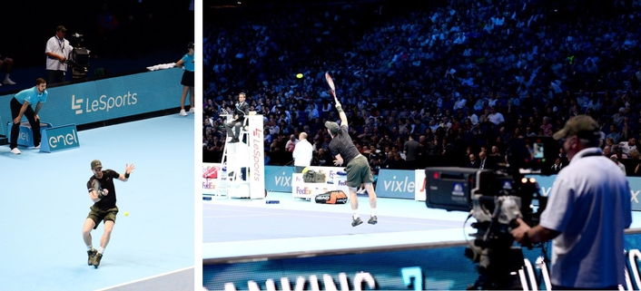 The ATP and ATP Media today announced that from now until Sunday 20th November, tennis fans will have an opportunity to experience the adrenalin of the Barclays ATP World Tour Finals in a whole new way