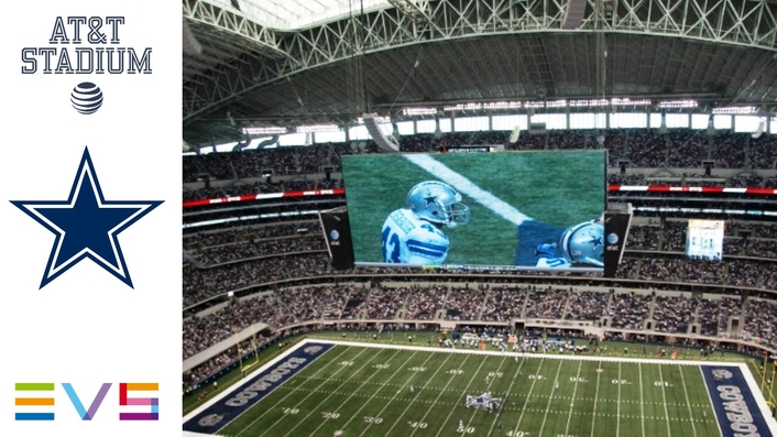 DALLAS COWBOYS GET CLOSER TO THE ACTION WITH UHD REPLAYS INSIDE AT&T STADIUM