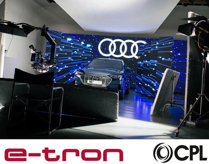 CPL adds Video Magic for Audi e-tron video