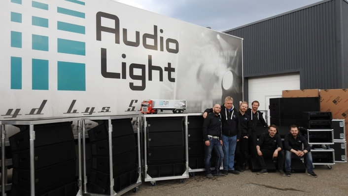 AUDIOLIGHT'S MAJOR INVESTMENT IN NEW MARTIN AUDIO PACKAGE