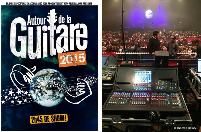 Chosen as the FOH console by tour production company 'Silence!' the M-5000 was specified because of the consoles' intuitive workflow