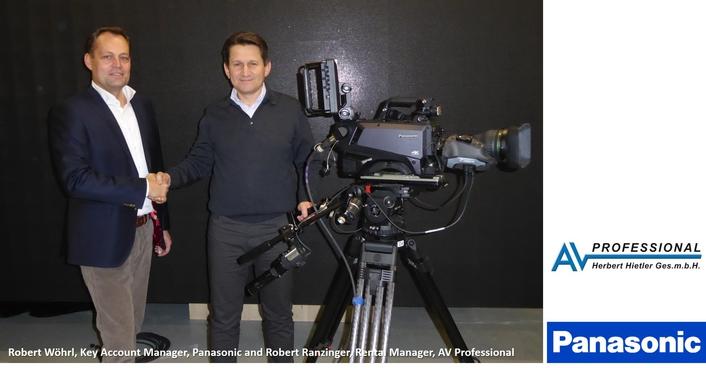 AV-Professional invests in Panasonic AK-UC3000 4K studio cameras