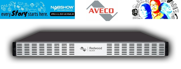 Aveco Brings Redwood BLACK Video Engine to the Americas at NAB 2019
