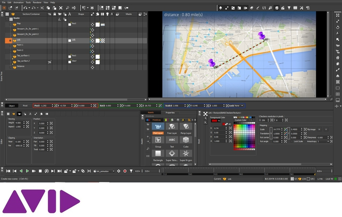 Avid Delivers Innovations for its State-of-the-art Graphics Authoring Software