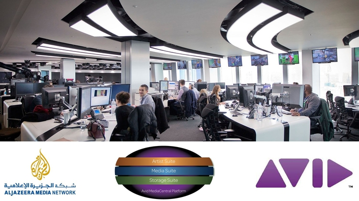 Avid and Al Jazeera Sign Global Enterprise Agreement and Announce Cloud-based Newsroom Project