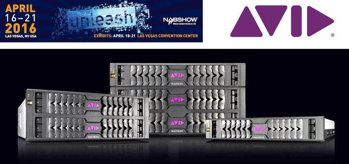Avid Unveils Next Generation of Intelligent Media Storage