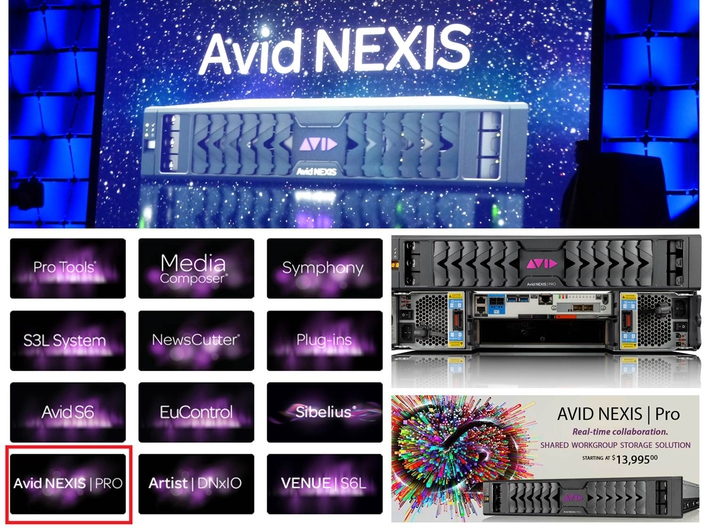 Avid NEXIS is Now Available
