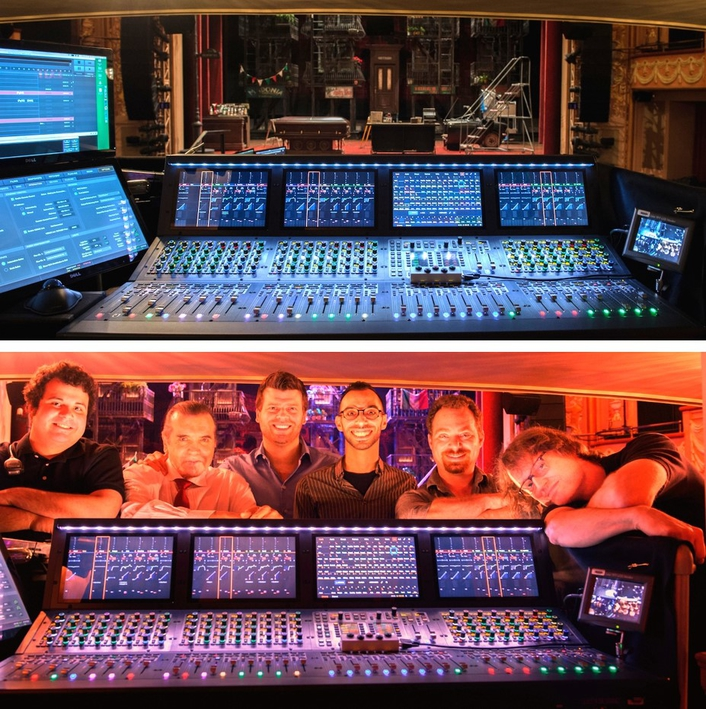 Live sound console gives award-winning sound designer Gareth Owen the processing power and pristine sound needed to mix the demanding hit musical adaptation