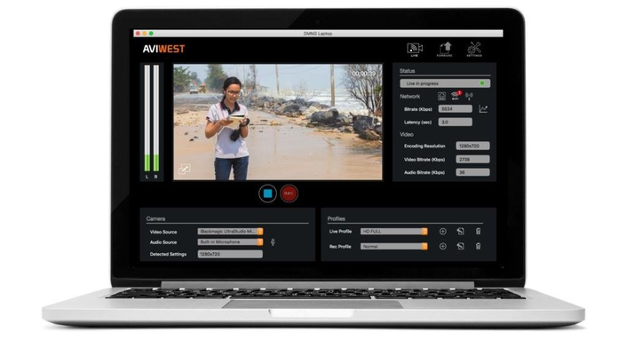 AVIWEST Transforms Live Newsgathering With New DMNG Laptop