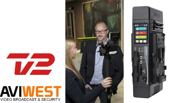 TV2 and Its Regional Stations Improve Live Coverage of Danish Election With AVIWEST Bonded Cellular Solution