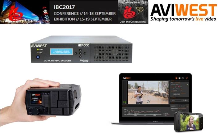 IBC2017 Exhibitor Preview Sept. 15-19 Amsterdam