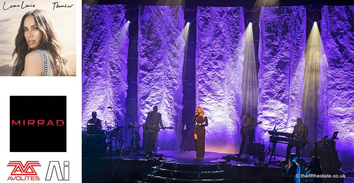 Avolites Sapphire Touch and Ai S8 servers power 'elegant' Leona Lewis tour