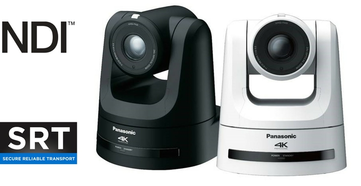 PANASONIC INTRODUCES INDUSTRY'S FIRST 4K/60P PAN/TILT/ZOOM CAMERA TO SUPPORT HIGH BANDWIDTH NDI AND SRT