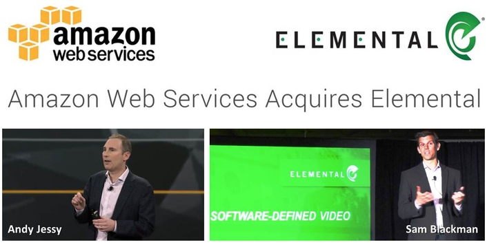 Amazon Web Services to Acquire Elemental
