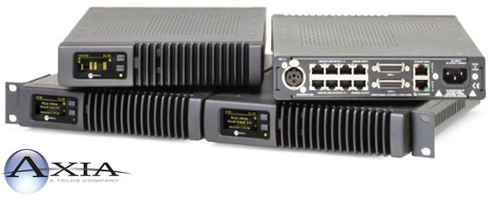 Axia Audio Launches Flexible 'Matrix Mixer' Feature for xNodes