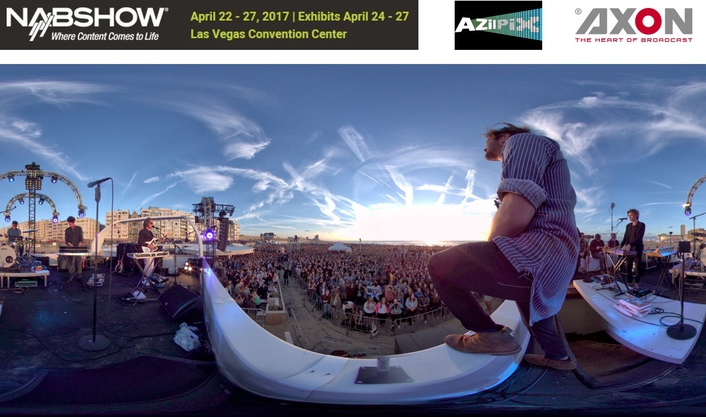 AZilPix Makes NAB Debut With Virtual Camera System For Live Video Capture And Streaming