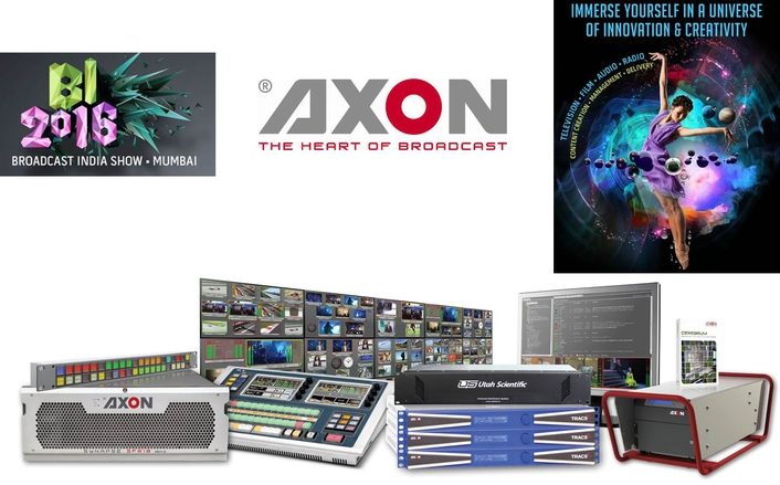 AXON FLEXES ITS 4K MUSCLES AT BROADCAST INDIA 2016