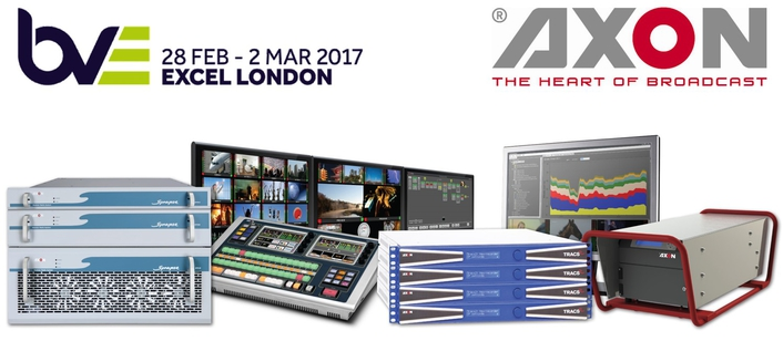 Axon 30th anniversary celebrated with IP products at BVE2017