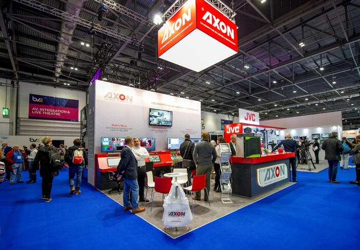 Axon demonstrates IP and Multiviewer solutions at BVE 2018