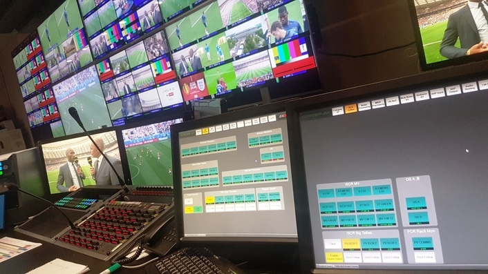 Cerebrum control and monitoring significantly simplifies the production workflow for BBC Sport's FIFA World Cup UHD HDR coverage