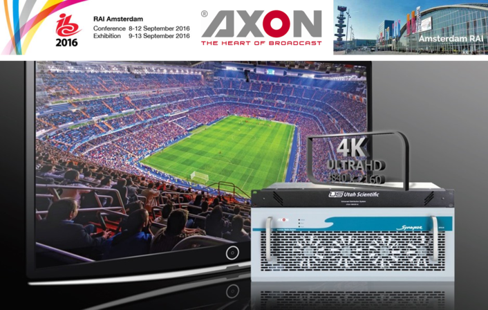 AXON Launches New SynView Multiviewer To Support  4K/UHD & IP Production