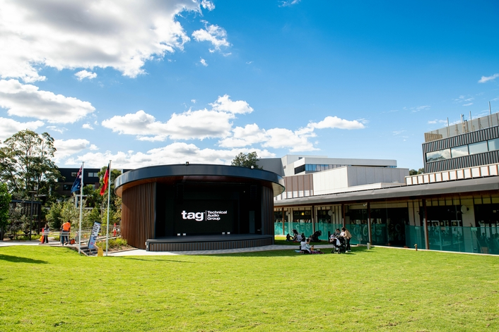 Martin Audio Array for New Rosenthal Park Leisure Development  Xcite Audio Visual equips main stage with MLA Mini