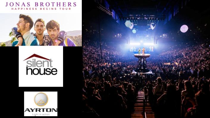 silentHOUSE chooses Ayrton Khamsins for Jonas Brothers Happiness Begins World Tour