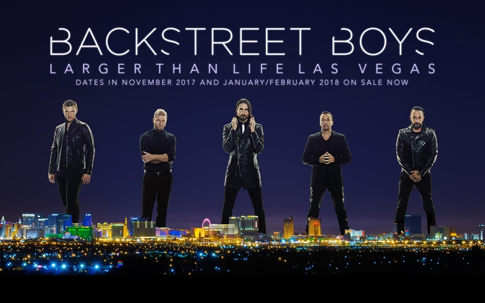 Backstreet Boys: Live and Directly from their tour