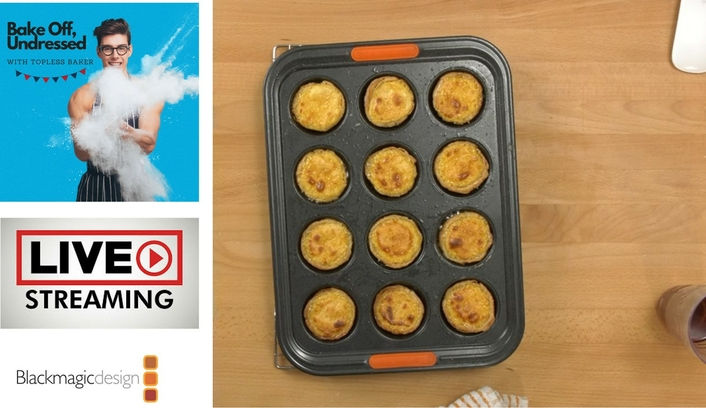 Great British Bake Off Star Takes Classes Online with ATEM Mini Pro ISO