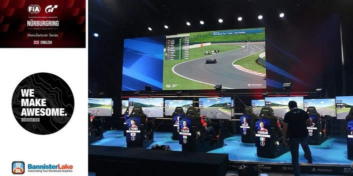 Bannister Lake Takes on the Gran Turismo esports Championships at the Legendary Nürburgring Track in Germany