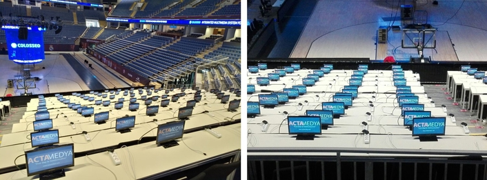 ACTAMEDYA provided IBC and cabling services for EUROLEAGUE FINAL FOUR