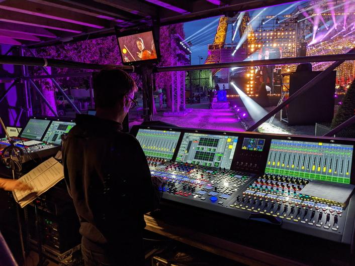 Bastille Day 2020: Concert de Paris Mixed with Lawo mc² Consoles for a 10 Million TV Audience