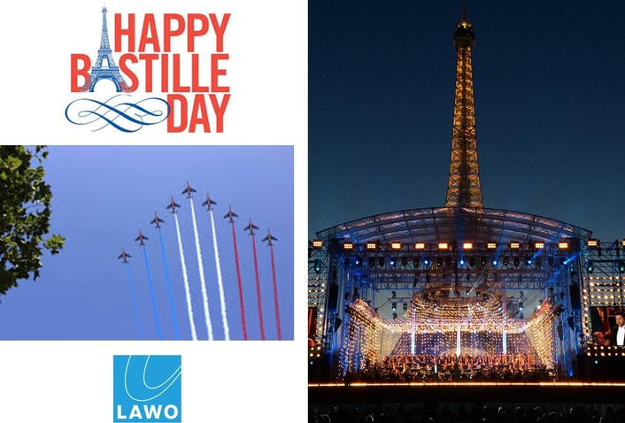 14 July celebration with sound from Lawo