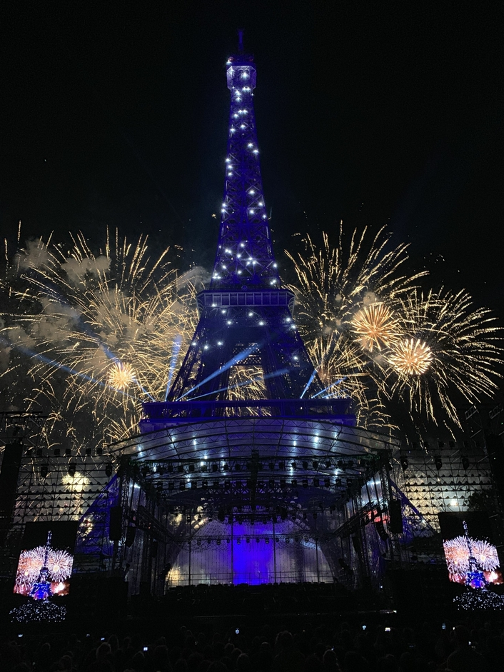 Lawo contributes to Concert de Paris at French National Day celebrations on two levels