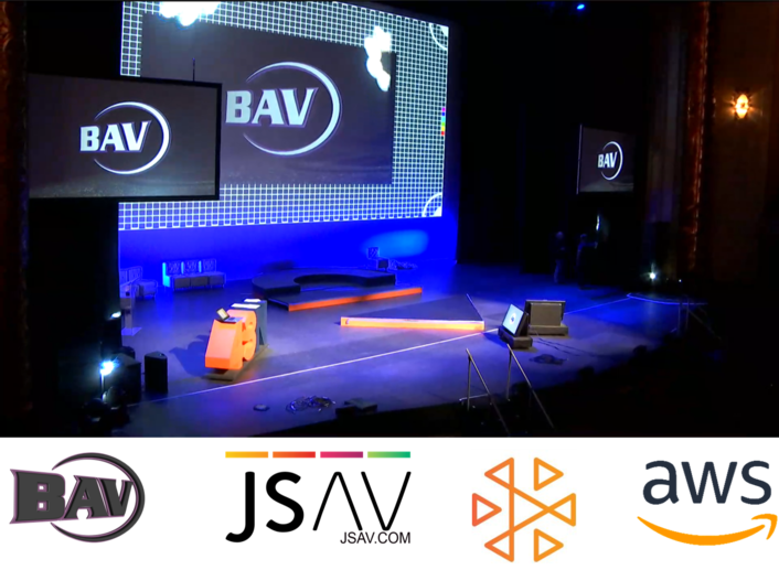 BAV pivots to live virtual event production at scale with Amazon IVS