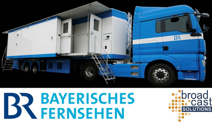 BR FÜ2 - Broadcast Solutions delivers new HD OB van to German public Broadcaster Bayerischer Rundfunk